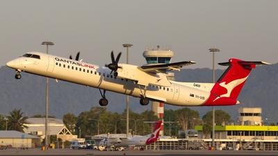 A picture of VHQOD - De Havilland Canada Dash 8400 - QantasLink - © Dave Parer