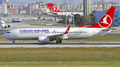 TC-JFN - Boeing 737-8F2 - Turkish Airlines
