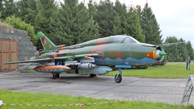734 - Sukhoi Su-22M4 Fitter K - German Democratic Republic - Air Force