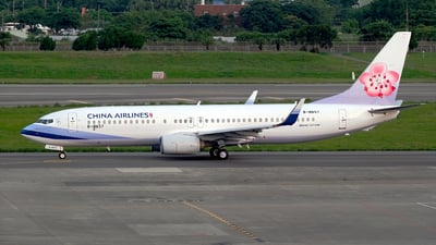 B-18657 - Boeing 737-8FH - China Airlines