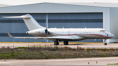 VP-CBD - Bombardier BD-700-1A10 Global 6000 - Private