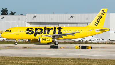 A picture of N607NK - Airbus A320232 - Spirit Airlines - © Martin Rogosz