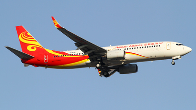 A picture of B1130 - Boeing 73784P - Hainan Airlines - © M.T