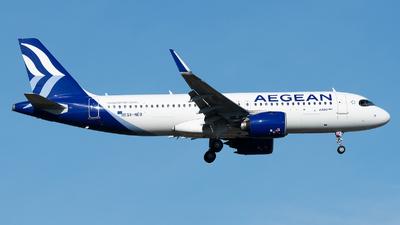 SX-NEB - Airbus A320-271N - Aegean Airlines