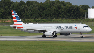 A picture of N552UW - Airbus A321231 - American Airlines - © DJ Reed - OPShots Photo Team
