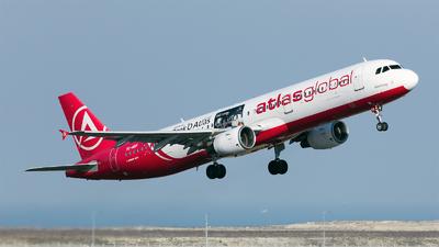 A picture of TCATF - Airbus A321211 - AtlasGlobal - © Ömür Sadikoglu