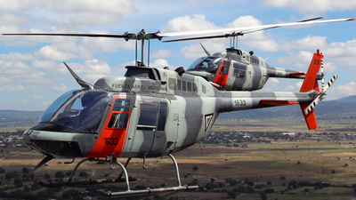 1633 - Bell 206A JetRanger - Mexico - Air Force