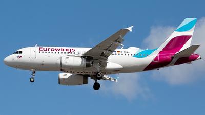 D-AGWJ - Airbus A319-132 - Eurowings