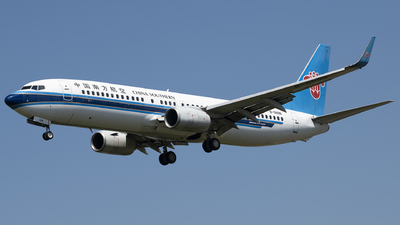 A picture of B5598 - Boeing 73786J - China Southern Airlines - © Tom Cheng