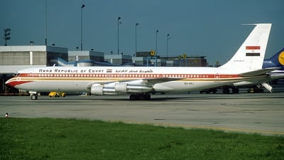 SU-AXJ - Boeing 707-366C - Egypt - Air Force
