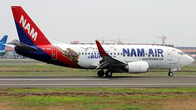 PK-NAL - Boeing 737-524 - NAM Air
