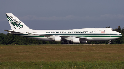 N493EV - Boeing 747-4H6(BDSF) - Evergreen International Airlines
