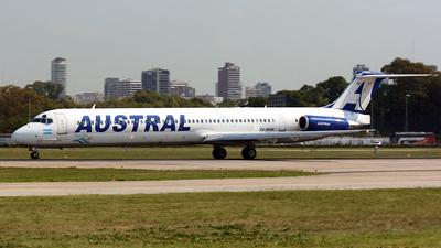 LV-WGN - McDonnell Douglas MD-83 - Austral Líneas Aéreas