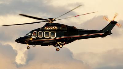 N223KR - Agusta-Westland AW-139 - Private