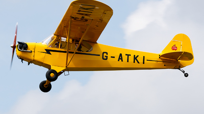 G-ATKI - Piper J-3C-65 Cub - Private