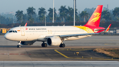 A picture of B1248 - Airbus A320251N - Capital Airlines - © zhangmx969