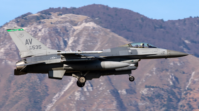 88-0535 - General Dynamics F-16CG Fighting Falcon - United States - US Air Force (USAF)