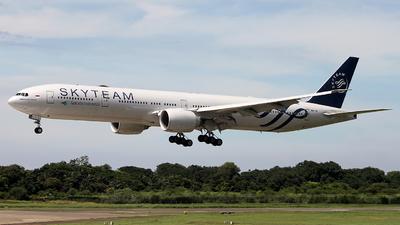 PK-GII - Boeing 777-3U3ER - Garuda Indonesia