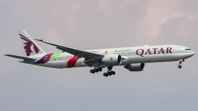 A picture of A7BAX - Boeing 7773DZ(ER) - Qatar Airways - © Chingwang Lee