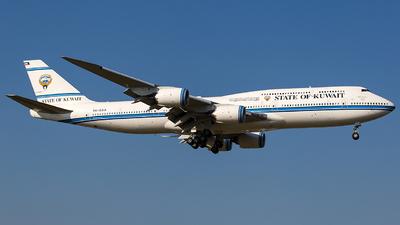 A picture of 9KGAA - Boeing 7478JK(BBJ) -  - © Wenjie Zheng