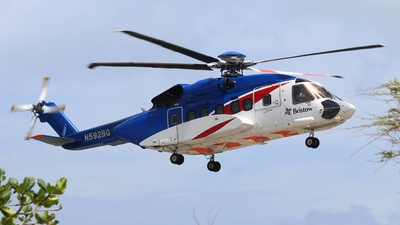 N592BG - Sikorsky S-92A Helibus - Bristow Helicopters