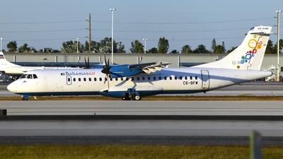 A picture of C6BFW - ATR 72600 - Bahamasair - © Doug Marsh