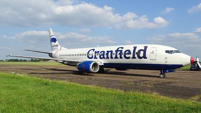 G-DOCB - Boeing 737-436 - Cranfield University