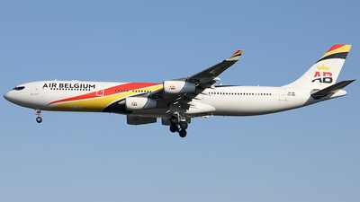 A picture of OOABA - Airbus A340313 - Air Belgium - © AviaStar Photography