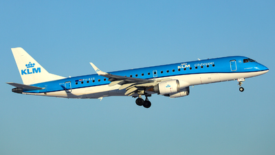 A picture of PHEZS - Embraer E190STD - KLM - © R. Eikelenboom