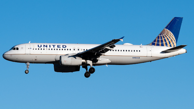 A picture of N414UA - Airbus A320232 - United Airlines - © Michael Place