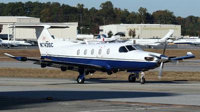 N743SC - Pilatus PC-12/47 - Private