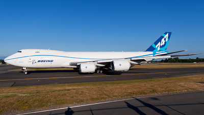 N50217 - Boeing 747-8KZF - Boeing Company