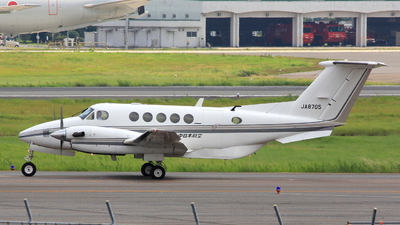JA8705 - Beechcraft B200 Super King Air - Nakanihon Air Service