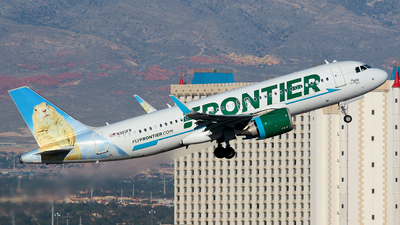 A picture of N303FR - Airbus A320251N - Frontier Airlines - © Angel Natal