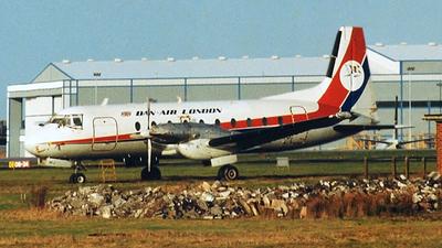 G-ATMJ - Hawker Siddeley HS-748 Series 2A - Dan-Air London
