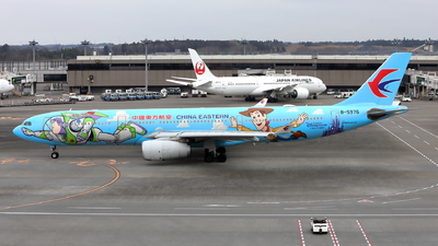A picture of B5976 - Airbus A330343 - China Eastern Airlines - © kouyagi