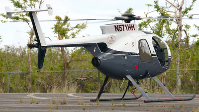 A picture of N571HH - MD Helicopters MD 500 - [470125D] - © Angel Natal