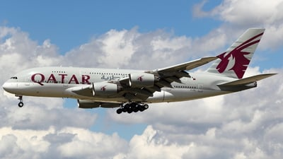 A7-APE - Airbus A380-861 - Qatar Airways