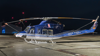 MAP-7752 - Bell 412EP - Macedonia - Police