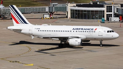 A picture of FGRHR - Airbus A319111 - Air France - © John Richard