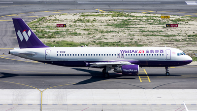 B-8102 - Airbus A320-214 - West Air