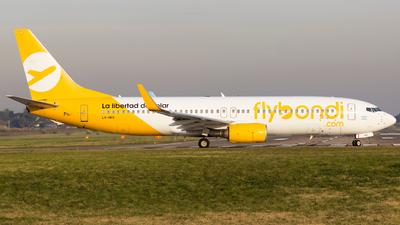 A picture of LVHKS - Boeing 7378AS - [33821] - © Juan Manuel Cerda