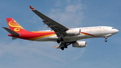 A picture of BLNX - Airbus A330243F - Hong Kong Air Cargo - © WangJL