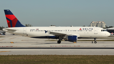 A picture of N350NA - Airbus A320212 - Delta Air Lines - © Arno Vesterholm