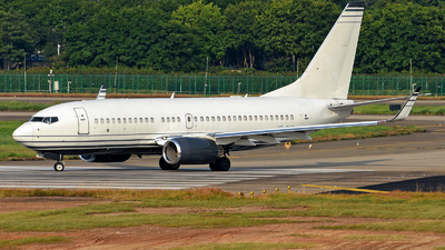VP-CKG - Boeing 737-7JB(BBJ) - Private