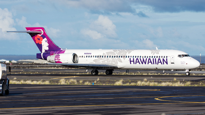 A picture of N494HA - Boeing 7172BL - Hawaiian Airlines - © Kyle McKinlay
