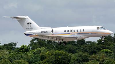 N230JE - Hawker Beechcraft 4000 - Private