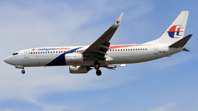 9M-MLL - Boeing 737-8FZ - Malaysia Airlines
