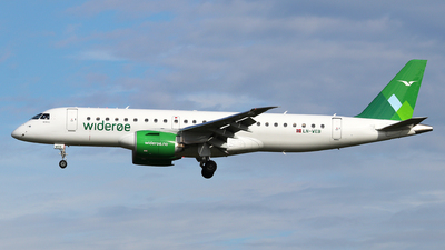 LN-WEB - Embraer 190-300STD - Widerøe