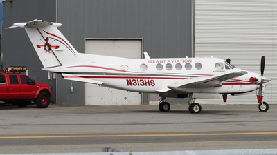 N313HS - Beechcraft 200 Super King Air - Grant Aviation